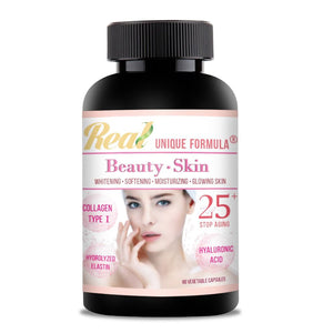 Real House Canada Anti-Aging Collagen Moisturizing Herbal Supplements