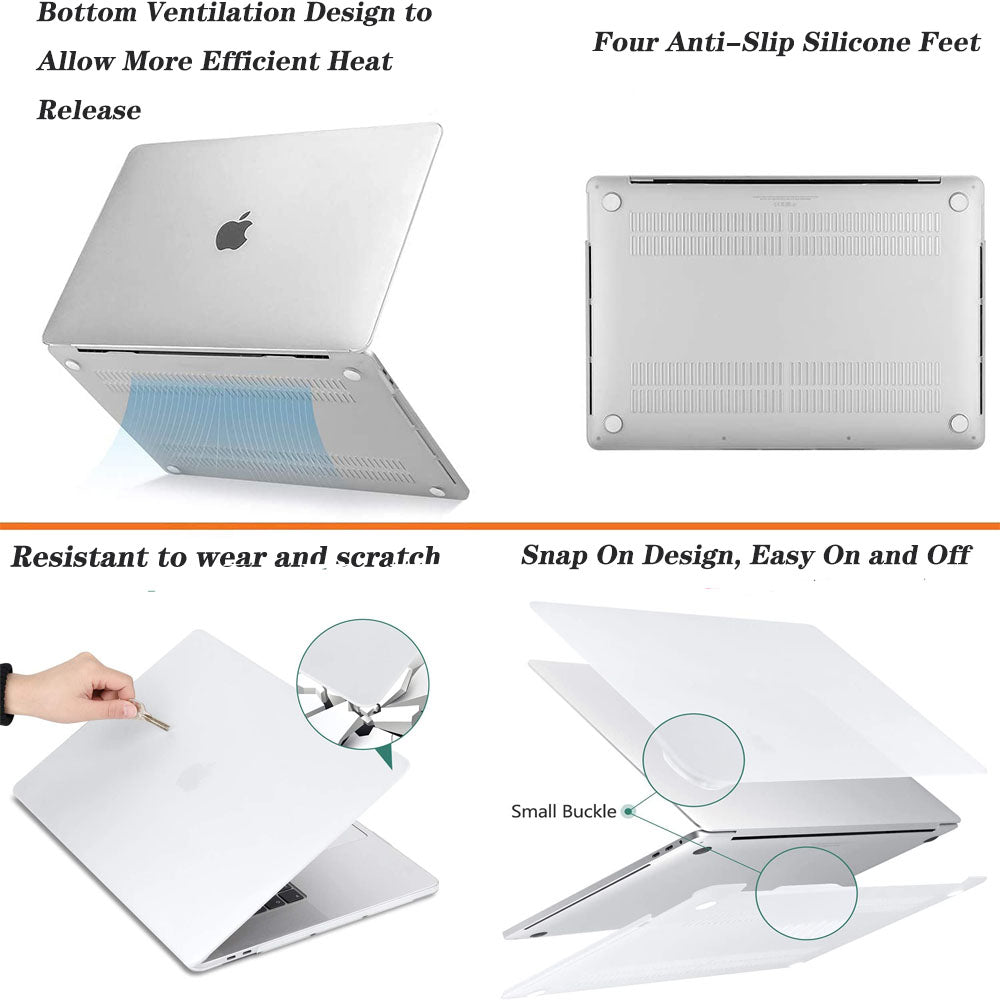 Matte Coating Hard Cover Case for MacBook Pro 16 Inch A2141