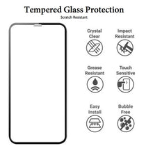 Load image into Gallery viewer, 6.5 Inch Full Cover Tempered Glass Easy Installation Screen Protector for iPhone 11 Pro Max and XS Max
