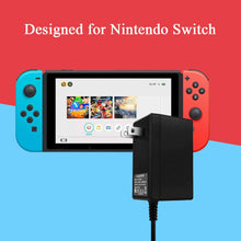 Load image into Gallery viewer,  Games TV Mode Supports Dual-Voltage AC Charger for Nintendo Switch 2