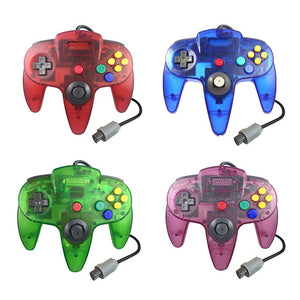 Family 4 Pack N64 1.8m/6FT Controllers for Retro Nintendo Gaming 0