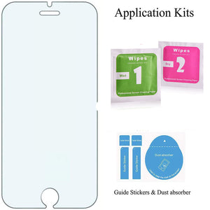 4.7 Inch Full Cover Tempered Glass Easy Installation Screen Protector for iPhone SE 2020, 3 Counts