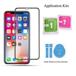 Full-Cover-Tempered-Glass Easy-Installation Screen Protector iPhone 11 4