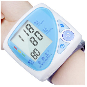 Wrist Digital Blood Pressure Monitor HK-610 4
