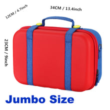 Load image into Gallery viewer, Mario Denim Pants Console Storage Case Jumbo Product Dimensions