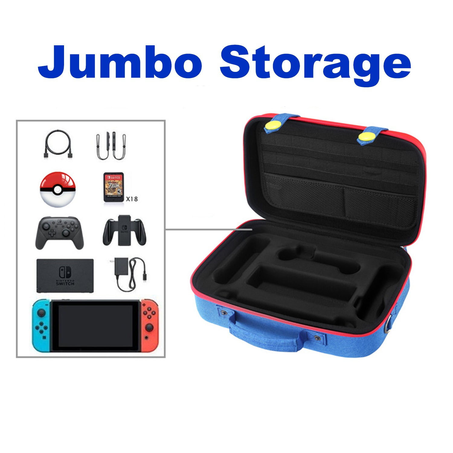 Mario Denim Pants Jumbo Storage