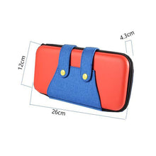 Load image into Gallery viewer, Mario Denim Pants Console Storage Case Small Product Dimensions