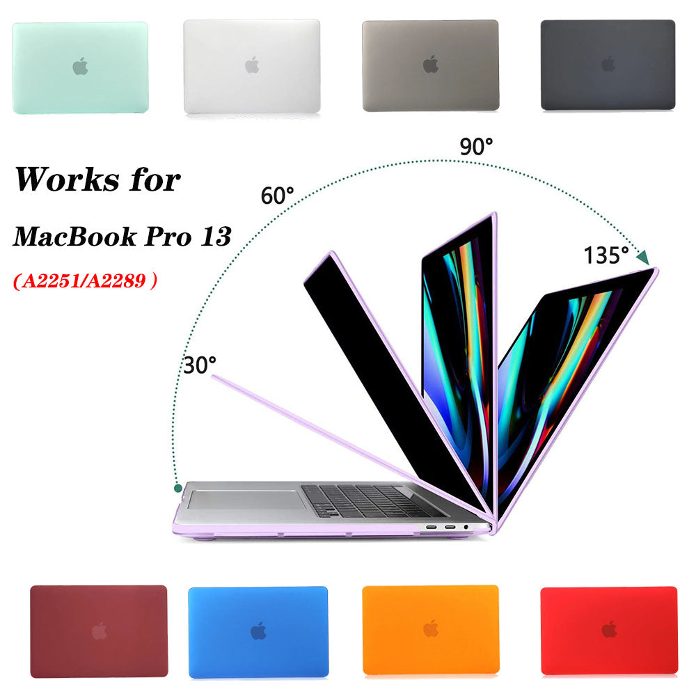 Matte Coating Hard Cover Case for MacBook Pro 13 Inch A2251 A2289 1