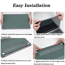Load image into Gallery viewer, Matte Coating Hard Cover Case for MacBook Pro 13 Inch A2251 A2289 5