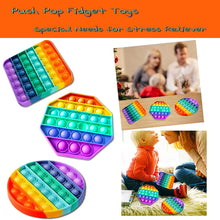 Load image into Gallery viewer, Octagon Push Pop It Sensory Fidget Toys Stress Relieve Fidgetget for Anxiety Relief Educational Toys for Special Needs Kids and Family, Perfect Sensory Fidget for Autistic, ADHD, Autism to Help Focus