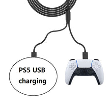 Load image into Gallery viewer, 10 FT PS5 USB C Cable Fast Charging for PlayStation Xbox X Controllers 4