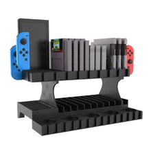 Load image into Gallery viewer, Retro Nintendo SNES N64 Game Storage Tower with Amiibo Display Rack 3
