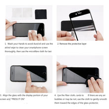 Load image into Gallery viewer, 4.7 Inch Full Cover Tempered Glass Easy Installation Screen Protector for iPhone SE 2020, 3 Counts