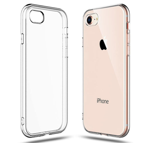 Crystal Slim Anti-Scratch Protective Case for iPhone SE 2020