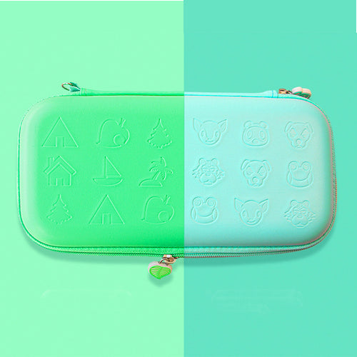 Turquoise Protective Hard Shell Travel Carrying Storage Case with Grips for Nintendo Switch Lite 0