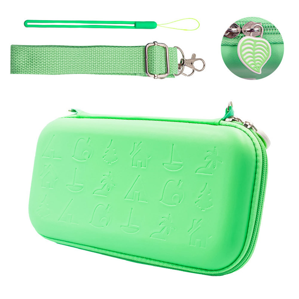 Turquoise Protective Hard Shell Travel Carrying Storage Case with Grips for Nintendo Switch Lite 8