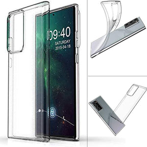Ultra Clear Flex Cover Case for Samsung Galaxy Note 20 Ultra 2 Pack