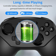 Load image into Gallery viewer, Wireless Controller for Nintendo Switch Lite, Android Bluetooth Controllers Gamepad Pro Controller with Turbo, 6 Axis and Dual Vibration 2