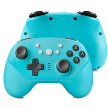 Load image into Gallery viewer, Wireless Controller for Nintendo Switch Lite, Android Bluetooth Controllers Gamepad Pro Controller with Turbo, 6 Axis and Dual Vibration Blue 0