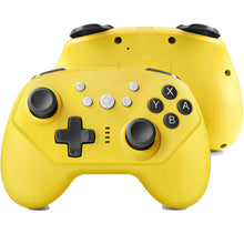 Load image into Gallery viewer, Wireless Controller for Nintendo Switch Lite, Android Bluetooth Controllers Gamepad Pro Controller with Turbo, 6 Axis and Dual Vibration Yellow 0