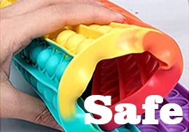 Safe Material for Adult and Kids to Use Pop It Fidget Toy