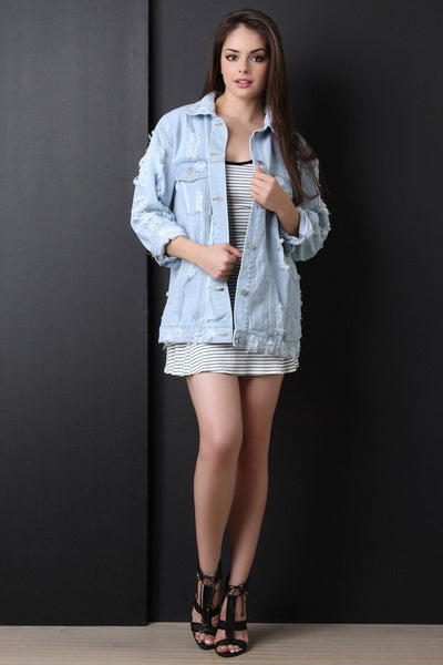 Fashion Tour Oversize Denim Jacket