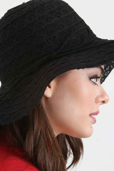 Lace Floppy Hat