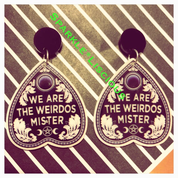 The craft - we are the weirdos mister earrings