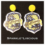 Harry Potter hogwarts house earrings