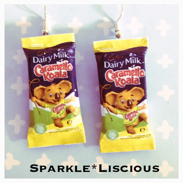 Caramello koala earrings