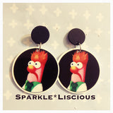 Beaker earrings