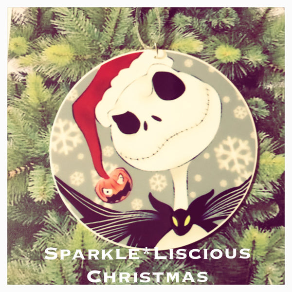 christmas tree decoration - nightmare before christmas