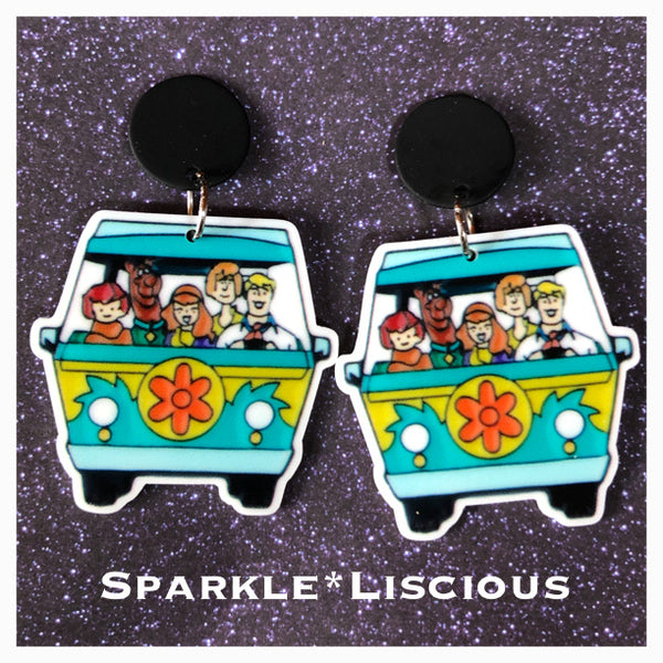 Scooby  gang earrings !