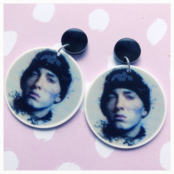 Eminem earrings