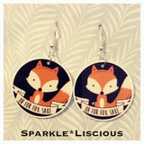 Oh for fox sake  !! earrings