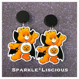Care bear Halloween earrings
