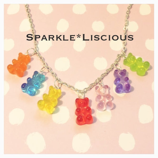 Gummi bear necklace