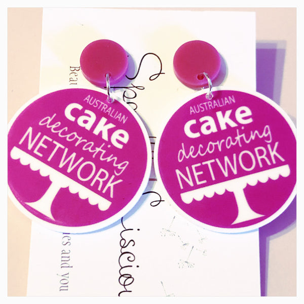 Acdn member earrings