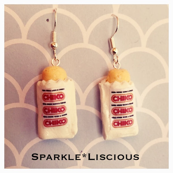 Chiko roll earrings