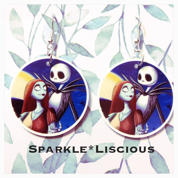 Christmas - nightmare before Christmas earrings