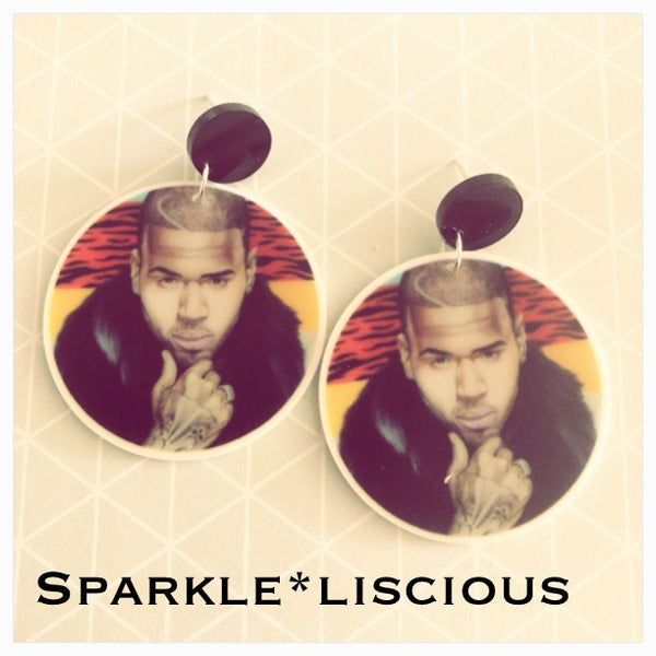 Chris brown earrings set 1