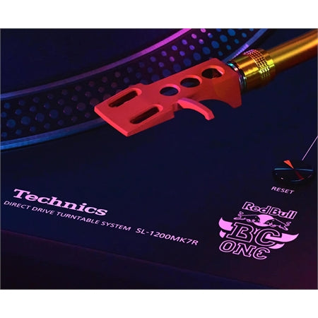 Technisc SL 1210 MK7 Special Design of the Red Bull BC One Limited Edition