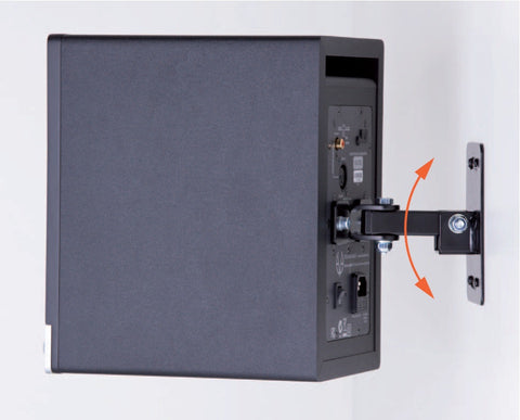 WALL MOUNTNG ADAPTER SC204/SC205 BACKSIDE MOUNTING
