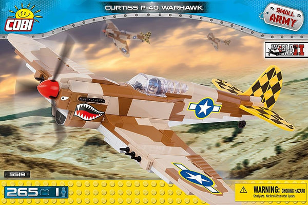 kocek cobi - CURTISS P-40 WARHAWK