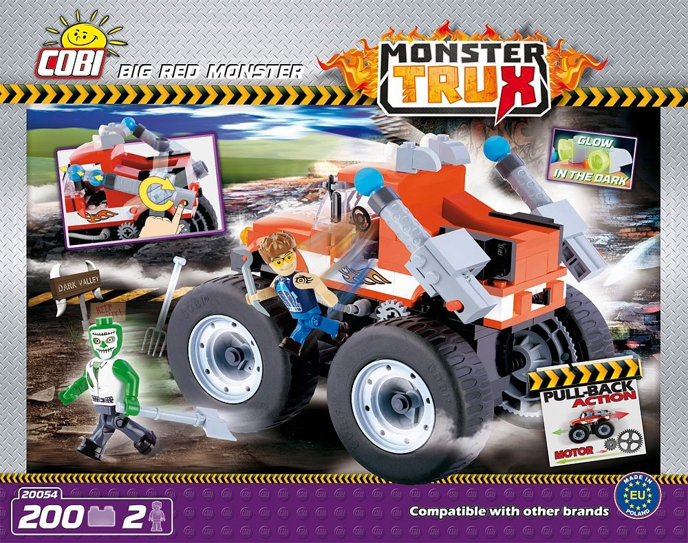 kocke cobi - BIG RED MONSTER