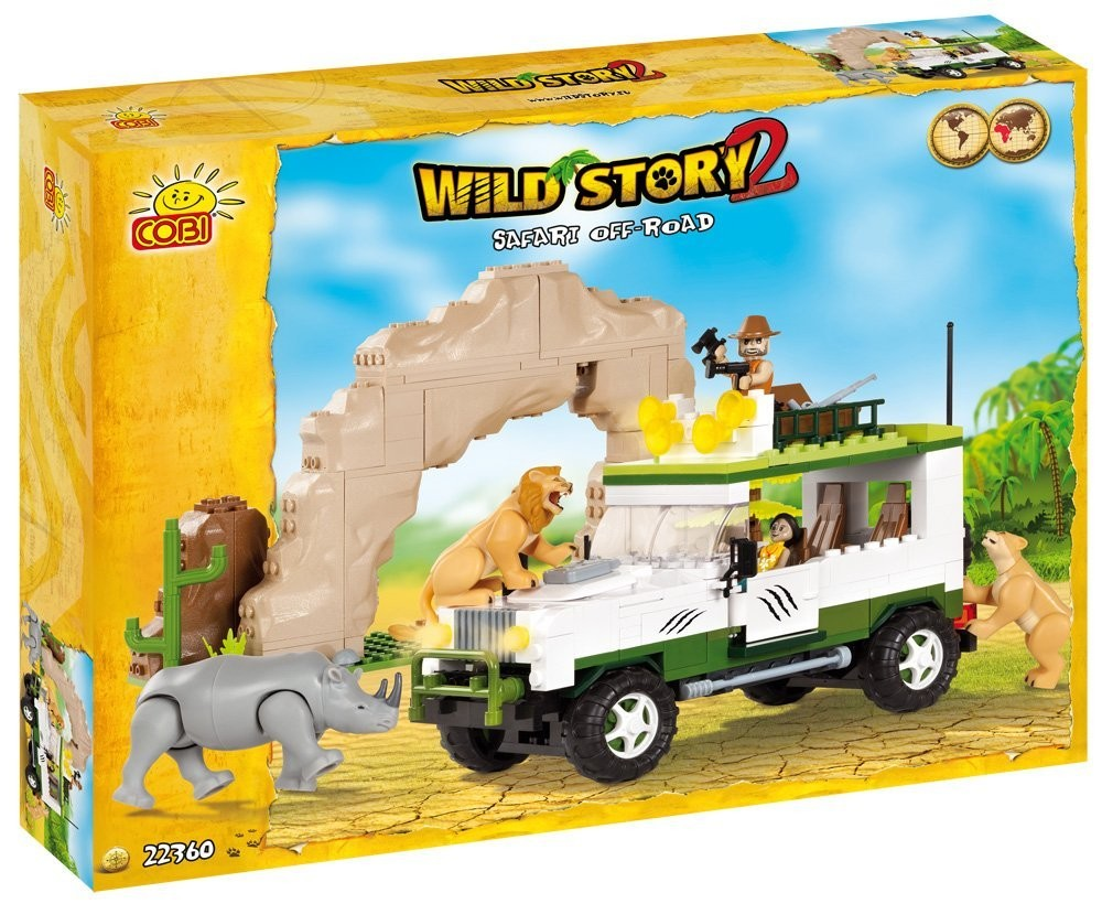 Kocke Cobi - SAFARI OFF ROAD