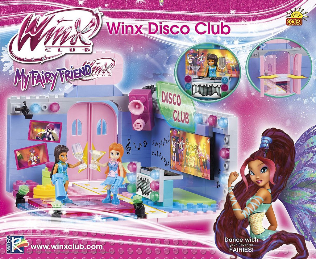 Kocke Cobi - Winx Disco Club