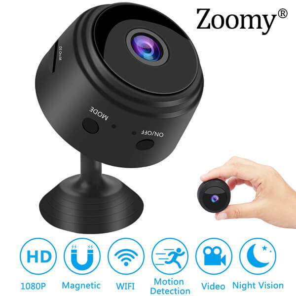 ZOOMY® - MINI IP VIDEO KAMERA