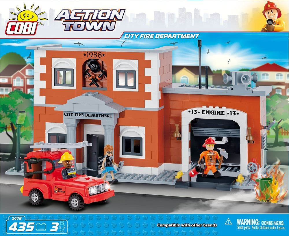 kocke cobi - CITY FIRE DEPARTMENT