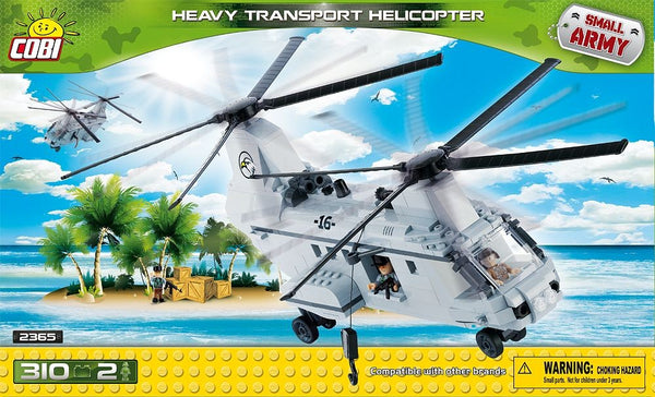 kocke cobi - HEAVY TRANSPORT HELICOPTER